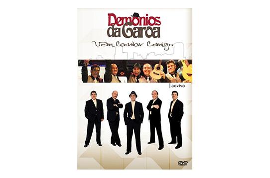 DVD DEMÔNIOS DA GAROA