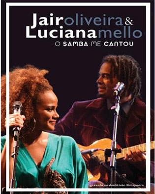 DVD LUCIANA MELLO E JAIR OLIVEIRA